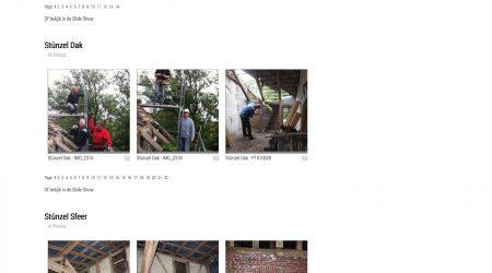 De nieuwe foto pagina